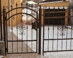 Wrought gate Otakar