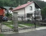Kovaná brána Palace