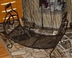 Krbový košík na drevo Mega